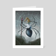 Spider Wizard - Art Card by Jeff Ward