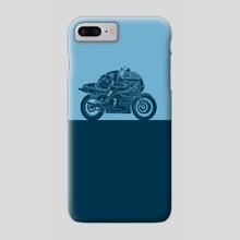 Sheene's Suzuki RG500 - Phone Case by Eric Etten