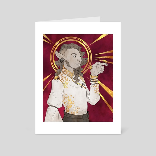 Caduceus Clay, Gold by Lauren Rowlands