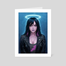 Electric Angel - Art Card by Matt Dixon
