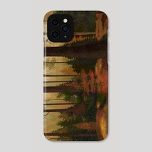 Fall Trees - Phone Case by Anais Cantres