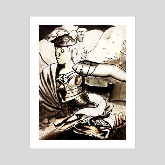 Angel in Ink by Arthur Arbetman