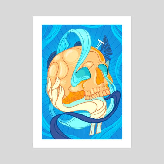 The Skull by Ashenwave