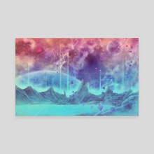 Mystic Dreamscape - Canvas by Tyrelle Smith