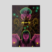 Metroid & Samus - Acrylic by Party in the Front