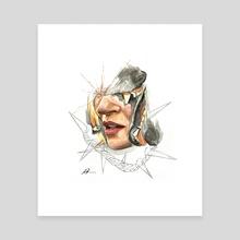 Kate (5) - Canvas by Antonio Michel