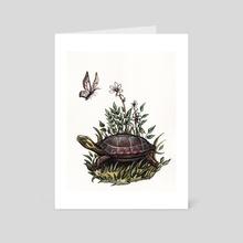 Turtle - Art Card by Madalyn McLeod