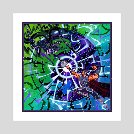 god of thunder and death by Jian Guo