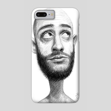 Adam B&W - Phone Case by Kritzia LaRose