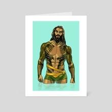 aquamomoa 2 - Art Card by kristafer anka