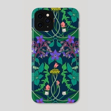 Dandelion - Phone Case by Feroniae