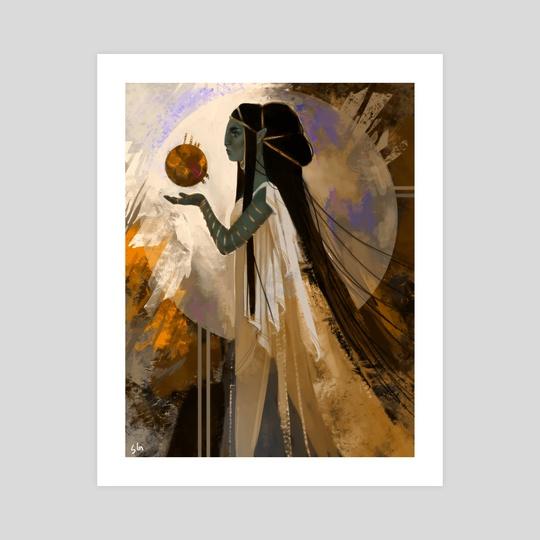 High Priestess by Sabrina Glik