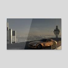 Skyhigh Benz - Acrylic by Vedran Tandara