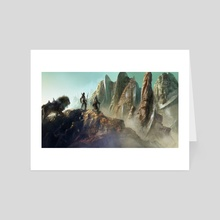 The Arrival - Art Card by George Evangelista