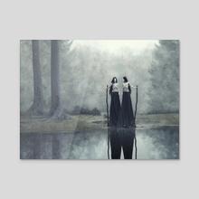 Darkwood - Acrylic by Daria Endresen