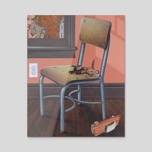 crash - Acrylic by doug smock
