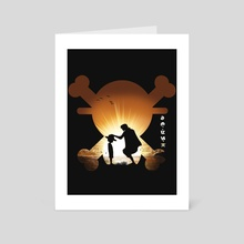 One Piece - Romance Dawn - Art Card by Geck Visual Arts