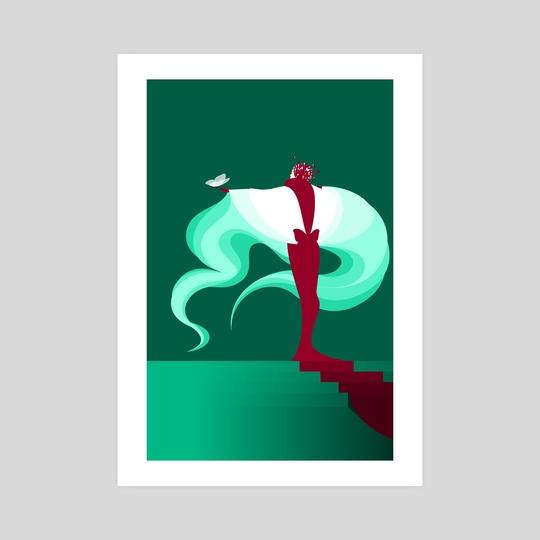 Signora Farfalla V by Alex Grund