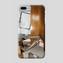 Devil is Fine - Phone Case by Linas Vaitonis