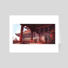 Morning Light - Art Card by James Chao