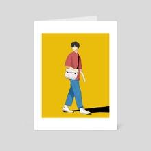 Kageyama Tobio  - Art Card by Kaushiki Tripathi