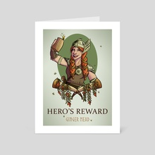 Hero's Reward - Art Card by Jessica Trevino