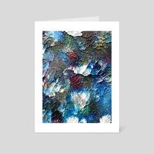 COLOR VINE - Art Card by William Birdwell