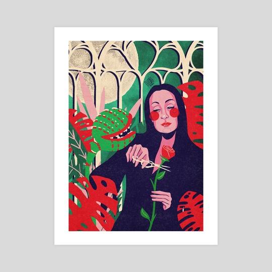 Morticia's Night Garden by Lucia