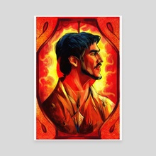 The Red Viper - Canvas by Kallie LeFave