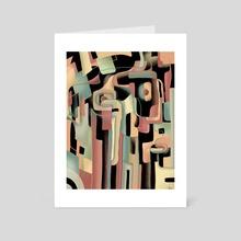 Retro-Futuristic - Art Card by Jesse Laird