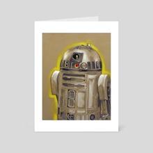R2D2 - Art Card by Jason Zante