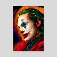 Joker - Canvas by Sergio Gil