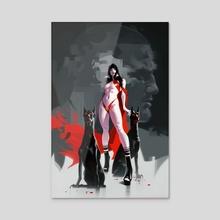 Vampirella - Acrylic by Jeff Dekal