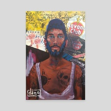 Cuban Portrait  - Canvas by Dan Lamy