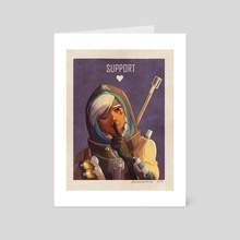 Support : Ana - Art Card by Johanna Taylor