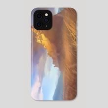 Kyuuden Lion - Phone Case by Chris Ostrowski