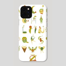 Circus Alphabet - Phone Case by Hannah Ross