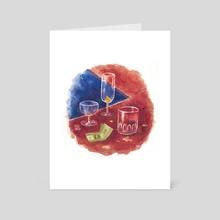 Tip - Art Card by Elaine Chen