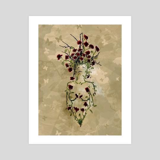 Femme fleur by Dric Decrisced