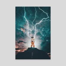 Goku - Canvas by Obnubilant  ラヤン