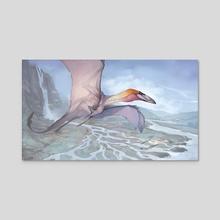 Shaledrake - Acrylic by Sam Santala