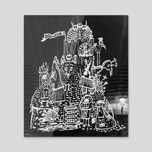 The Tower - Acrylic by Nicholas Rakita