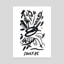 Squeeze - Canvas by Gracey Zhang