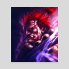 Akuma - Canvas by MARK CLARK II