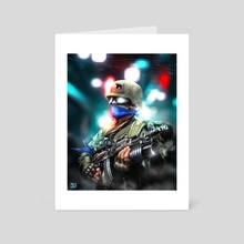 Peace Soldier - Art Card by Mell Bustamante