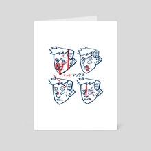 Mad - Art Card by Diigii Daguna