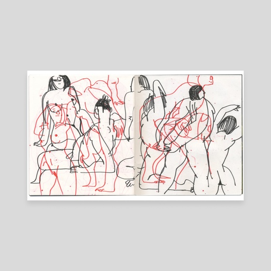 101017. figure drawing. invisible dog. (3 of 4) by alex eben meyer