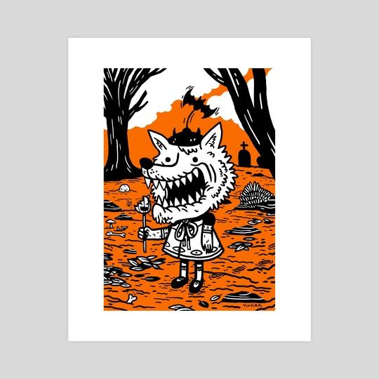 Ash, the Werewolf by Vivvian