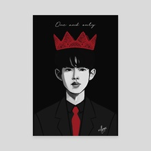 """B.I """"One and only"""" - Canvas by milkyopi"""