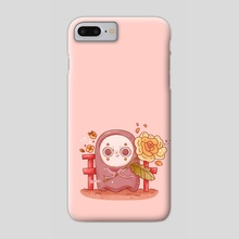 Shy Kao Ghost - Phone Case by Hyemin Yoo
